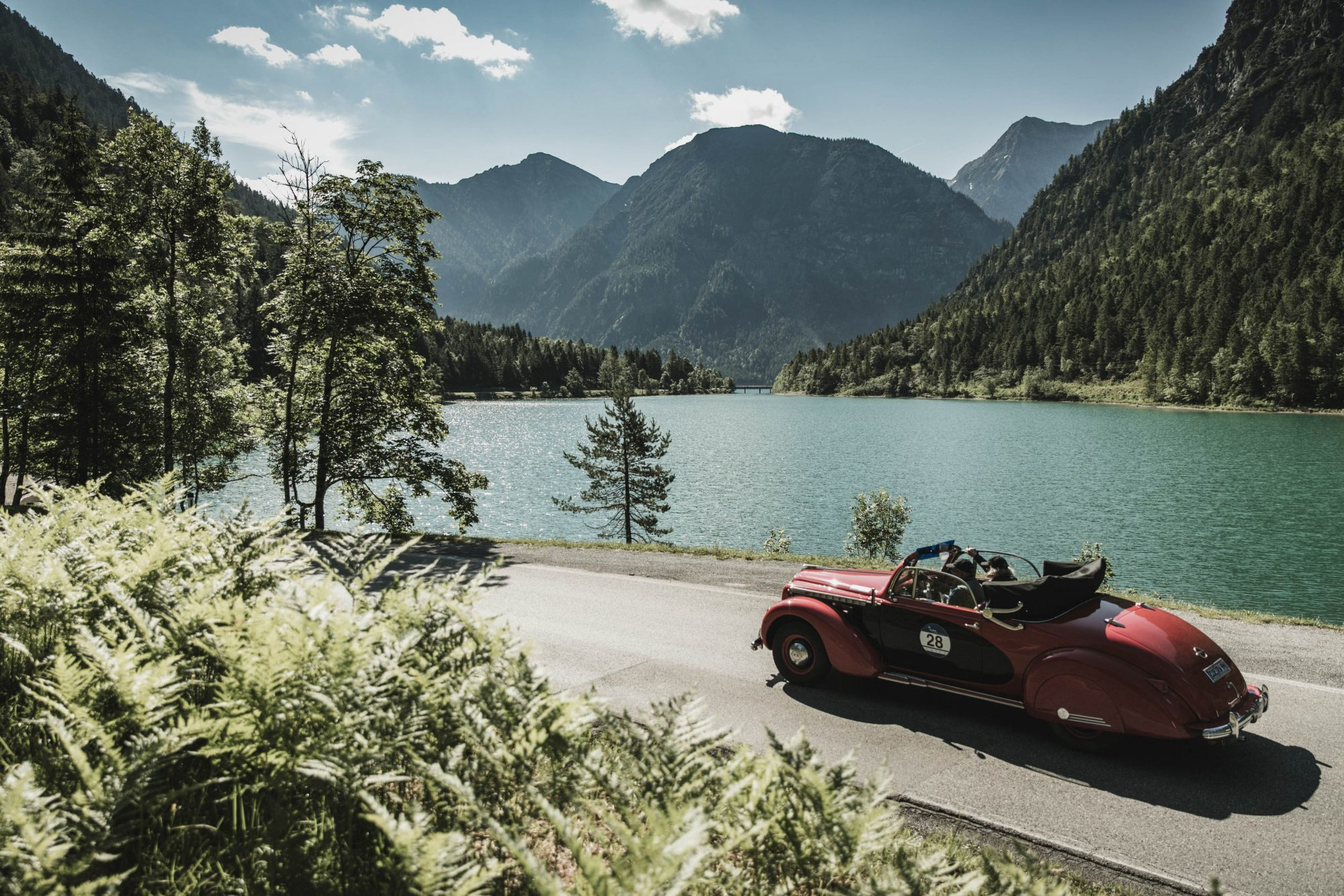Classic Cars Rally Through The Mountains - Love The Mountains