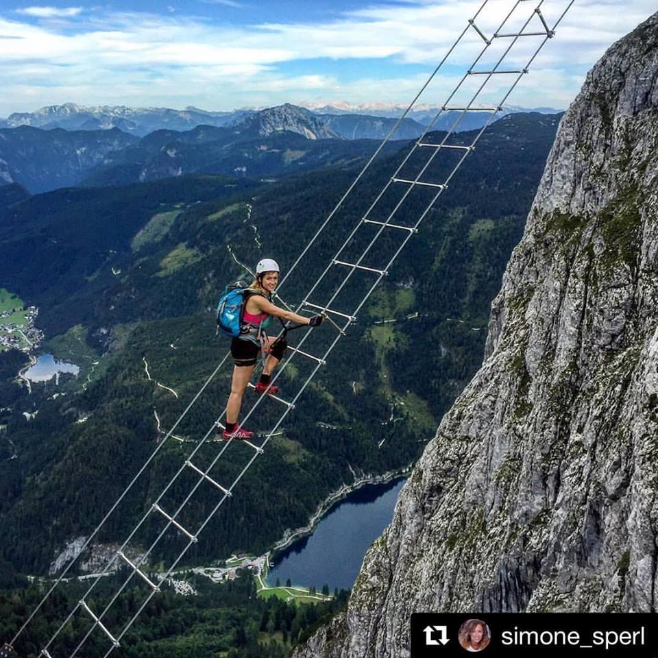 40m High Sky Ladder Opens In Austria Love The Mountains