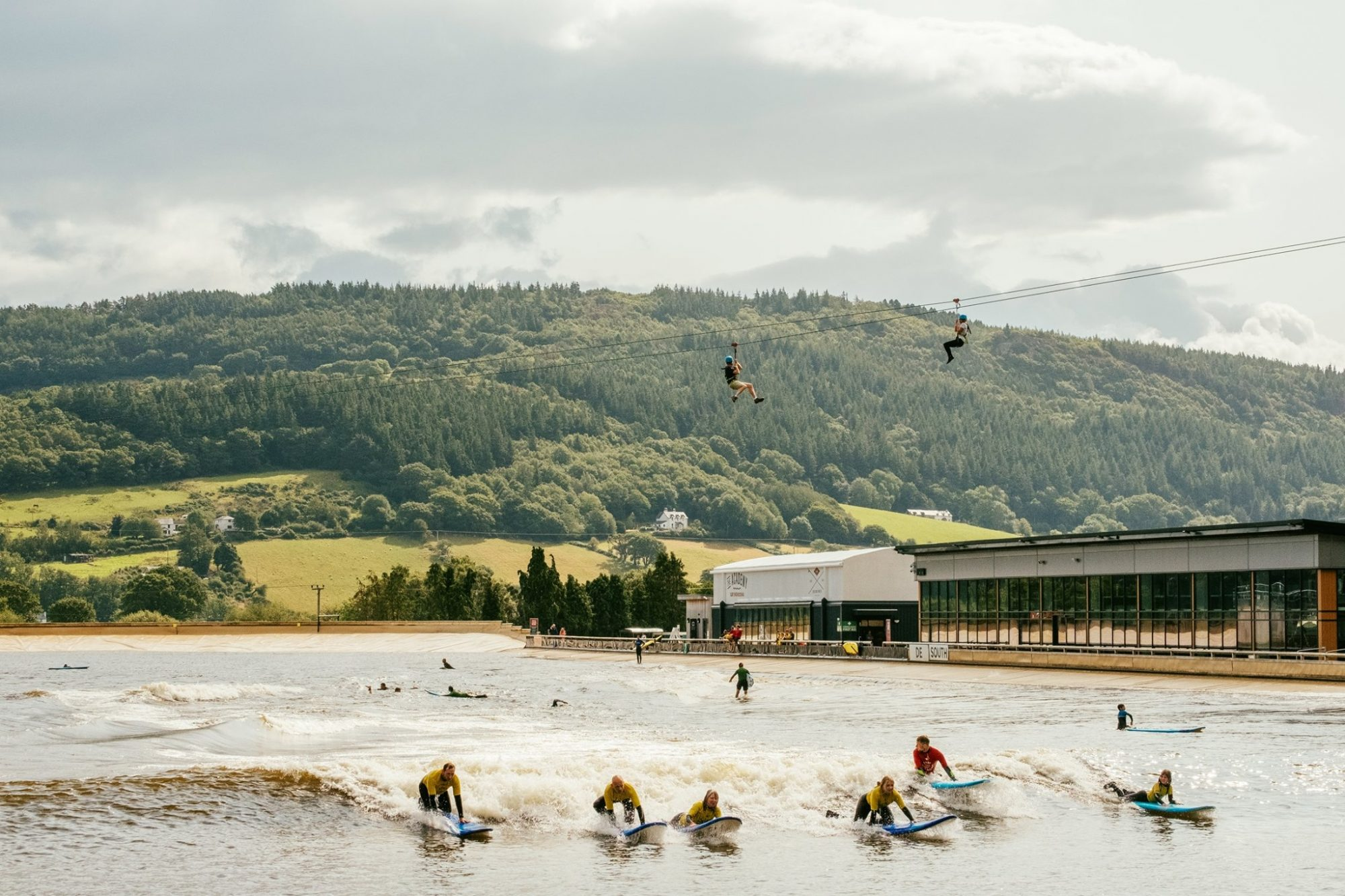 where to learn to surf in the UK surf snowdonia
